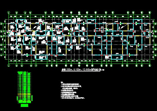 學員施工圖設計作業--三人行建筑結構設計培訓網